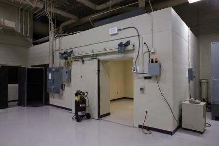 linear accelerator radiation door
