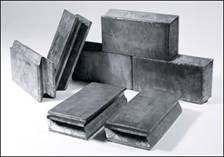 Lead Bricks Used in Nuclear Shielding Applications