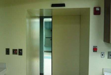 radiation shielding door